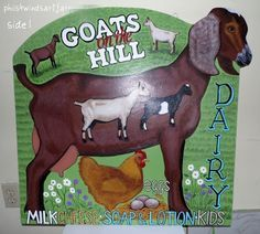 goat farm signs - Google Search