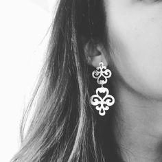 2c5181afe909 Earrings   Aros calados por mii maravillosos Aretes De Plata