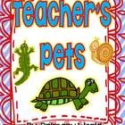 "Literacy activities to supplement Second Grade HMH Journeys Reading Series story ""Teacher's Pets""..."