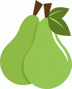 View Design: two green pears  #springforpears and #usapears
