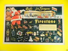1945 GIFTS FOR EVERYONE AT FIRESTONE CAR SERVICE