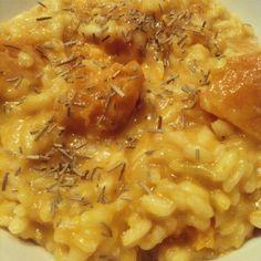 Risoto de Abóbora - Pumpkin Risotto http://carlinhanery.tumblr.com/post/111065498796/risoto-de-abobora-pumpkin-risotto