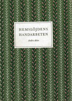 1950s Swedish embroidery by elizabethcake, via Flickr