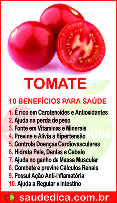 Benefício do tomate Health And Nutrition, Health Tips, Dieta Online, Healthy Fruits, Healthy Recipes, Dieta Flexible, Diet Diary, Alkaline Foods, Fat Burning Foods