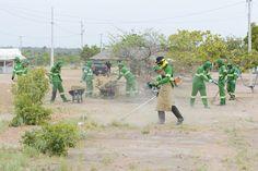 Prefeitura de Boa Vista, mais da metade das comunidades indígenas já receberam serviços de limpeza #pmbv #prefeituraboavista #boavista #roraima