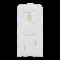 "FE458GFLP6WH Ferrari 458 Flip Pouzdro White Gold pro iPhone 6 4.7"""