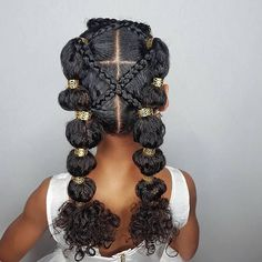 @shanillia26 Some more hairstyle inspiration for y'all! Cute, Quick AND easy! #protectivestyles