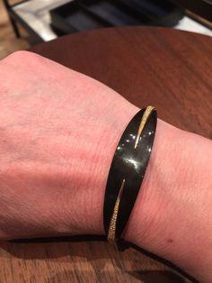 maiyet black horn bracelet