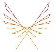 minimalistic phoenix on We Heart It