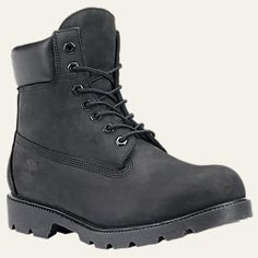 Men's 6-Inch Basic Waterproof Boots w/Padded Collar