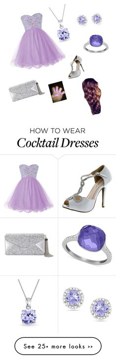 """""""Untitled #234"""" by destineebrown-1 on Polyvore featuring Bonnibel, Bling Jewelry, Ice, Swarovski and BCBGMAXAZRIA"""