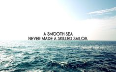 Sailor at sea inspirational quote Free HD Wallpaper