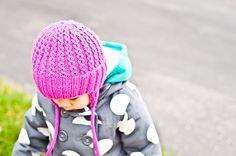 Ravelry: sweetiekare's Double Rib Toddler Hat (+ mittens)