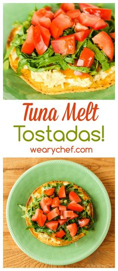 Rekindle your love for a classic sandwich with these fun and easy Tuna Melt Tostadas!