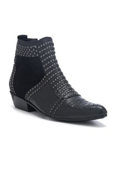 Charlie Boots With Silver Studs