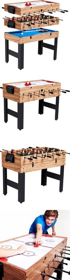 Tables 21213: 3 In 1 Combo Multi Game Table Foosball Soccer Convert  Billiards Pool Air