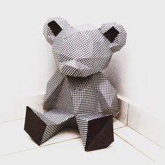 Bigger Better Teddy Bear papercraft. You get a PDF by sofsdesigns