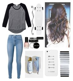 """""""Untitled #123"""" by suzieq-247 ❤ liked on Polyvore featuring moda, 7 For All Mankind, Converse, Wilfred e Bobbi Brown Cosmetics"""