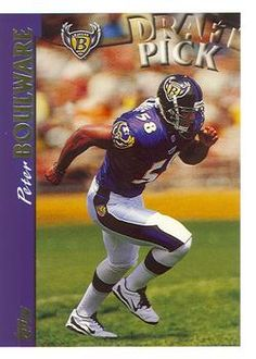 1997 Topps #405 Peter Boulware Front