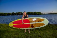 New Shoreline 2017 Wood Tone SUP for the Whole family. Stand Up Paddle Board. Cruiser Boards, Paddle Boarding, Stand Up, Ranges, Light In The Dark, Surfboard, Lighter, Coral, Things To Come