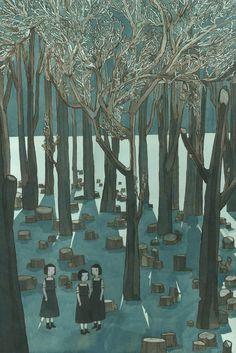 ghost in the graveyard- jen corace