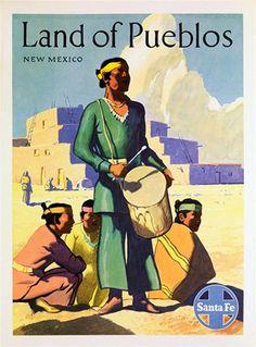 Santa Fe Land of Pueblos New Mexico