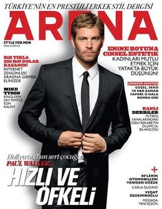 Paul Walker, Arena Magazine