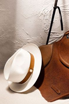 This Chic Equestrian Line Isn't Just For Horse Lovers #refinery29  http://www.refinery29.com/massimo-dutti#slide-11  Massimo Dutti Hat Limited Edition, $68.90, available at Massimo Dutti....
