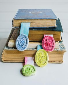 Paper Clay Bookmarks