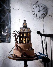 Haunted-House Chocolate Cookies Martha Stewart Living, October 2008