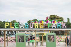 Pastel Pleasure Park Dreamland Magate, Kent England UK Britain's Oldest Amusement Park