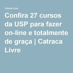 Confira 27 cursos da USP para fazer on-line e totalmente de graça | Catraca Livre Fairy Tales For Kids, Always Learning, Studyblr, Planner Organization, Student Life, Healthy Mind, Online Courses, Productivity, Coaching