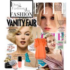 """Magazine inspiration"" by xmariettt on Polyvore"