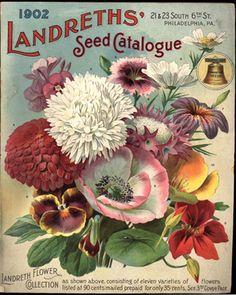 Landreths' Seed Catalogue, Philadelphia, Pennsylvania