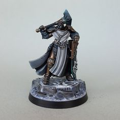 """""""Been working on one of the Sequitors as a one off project Warhammer Figures, Warhammer Paint, Warhammer Aos, Warhammer Fantasy, Dungeons And Dragons Miniatures, Stormcast Eternals, Fantasy Model, Tyranids, Hobbies For Men"""