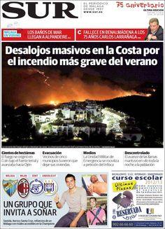 Diario SUR 31.08.2012