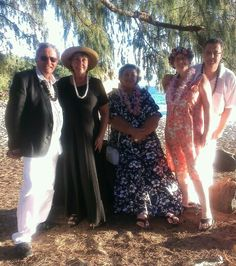 Annina  Stefan renewed their wedding vows at shipwreck beach December 6, they came all the way from Germany