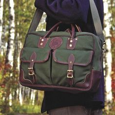 Other colors...Freelance Portfolio - Briefcase & Portfolio Bags - Briefcases & Bags - Business :: Duluth Pack :: Made in the USA :: Quality leather and can...