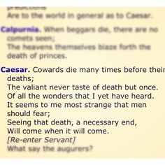 Julius Caesar - The only Shakespeare I enjoy reading