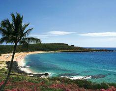 Hulopoe Bay Beach, Lanai (Hawaii)