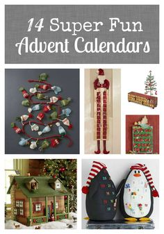 Super Fun Advent Calendars | The Mindful Shopper