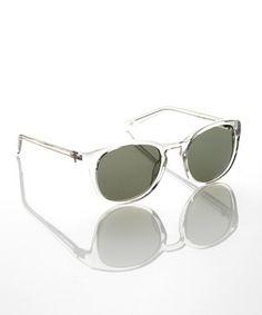 Crystal Round Sunglasses