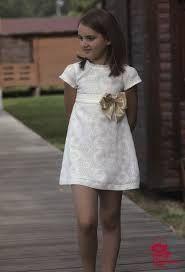 vestido ceremonia niña blanco -