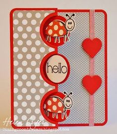Just a couple of cards today using Stephanie Barnard's new Sizzix Bugs Framelits and Stamps set , with some Flip-its cards. It's a really c...