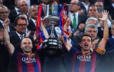 Final copa de Rei, Iniesta i Xavi
