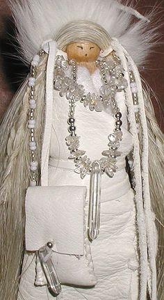 Crystal Keeper Medicine Woman Doll