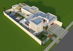 projeto arquitetura terrea House Layout Plans, House Layouts, House Plans, Green Park, Sims House, Home Decor Bedroom, Willis Tower, Home Projects, Swimming Pools
