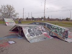 Ottawa may see new and improved skateparks Skate Park, Ottawa, Wall Collage, Baseball Field, Street Art, Exterior, Urban, City, Outdoor