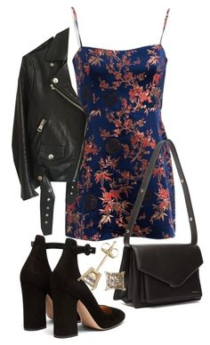 """Untitled #23640"" by florencia95 ❤ liked on Polyvore featuring Acne Studios, Balenciaga and Gianvito Rossi"