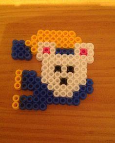 Perler Beads - Polar Bear with Scarf